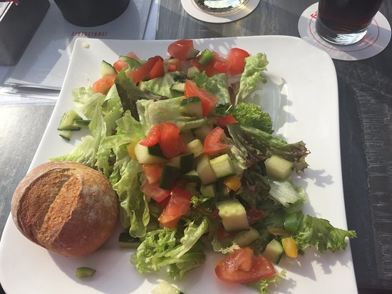 Monheim am Rhein, Almanya: gemischter Salat