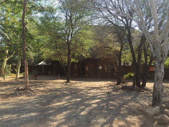 Marloth Park, Zuid-Afrika: The restaurant