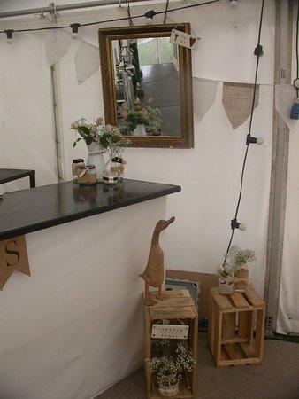 Blackrod, UK: Bar in the Marquee