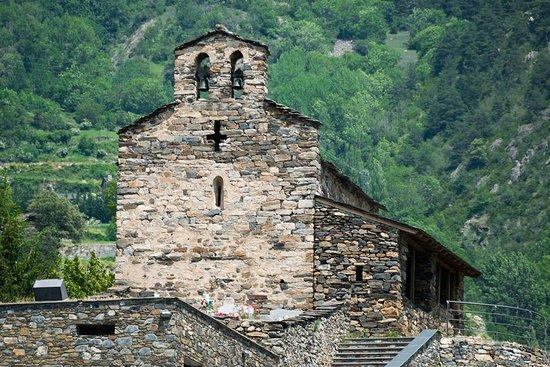 Sant Julia de Loria, Andorra: Iglesia San Serni de Nagol / Église Sant Serni de Nagol