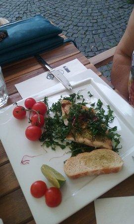 Grand Caffe Brasserie : Plato de pescado