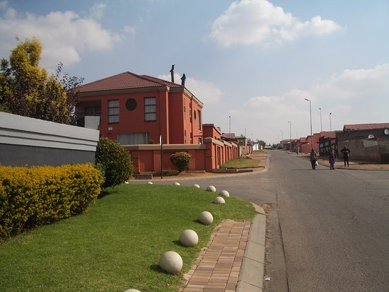 Greater Johannesburg, South Africa: Street scene.