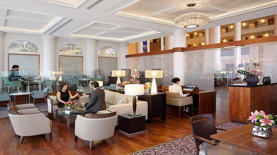 Executive Lounge at InterContinental David Tel Aviv