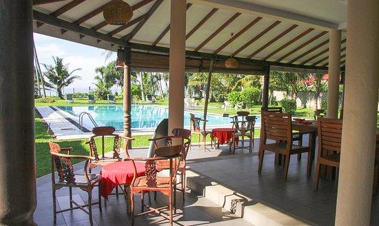 Crystal Villa: Restaurant Area