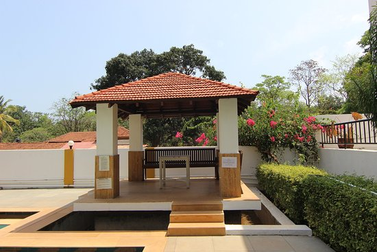 Anjuna, India: Poolside Gazebo