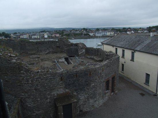 Dungarvan, Irland: The original shell keep