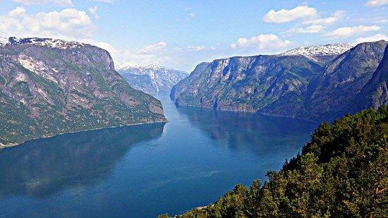 Aurland Municipality, Norge: a výhled z ní
