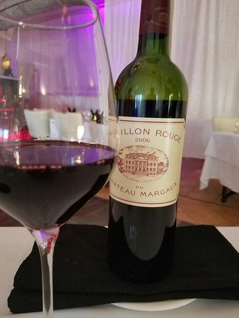 Very classy, great wine list!