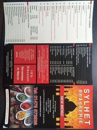 Grantown-on-Spey, UK: Sylhet Brasserie