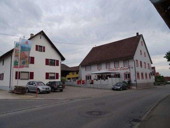 Biberach, เยอรมนี: Gasthaus Zum Lowen