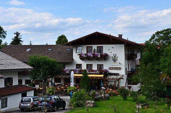 Gasthof Muehlwinkl: Hotel mit Biergarten