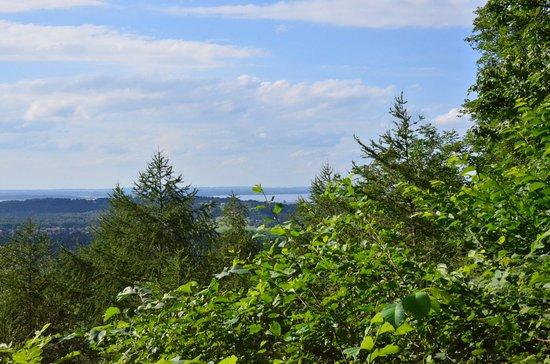 Gasthof Mühlwinkl: Blick zum Chiemsee