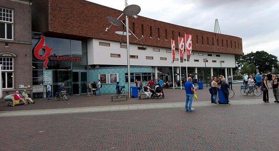 Veendam, The Netherlands: The Van Berensteyn building with the restaurant