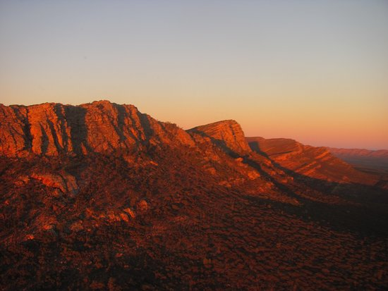 Flinders Ranges National Park, Australie : Sunset scenic flight