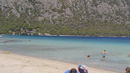 IRAIO LAKE LOUTRAKI Picture of Vouliagmeni Lake Loutraki