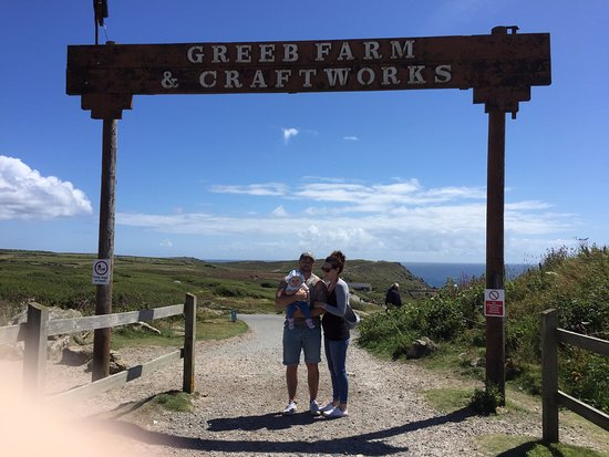 Land's End, UK: Entry to Greeb