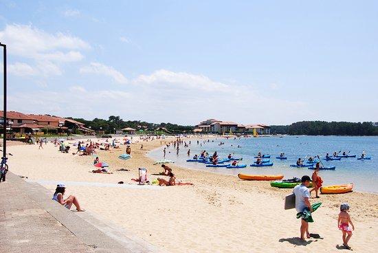 Vieux-Boucau-les-Bains, فرنسا: Plage du Lac
