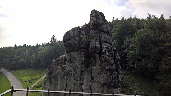 Horn-Bad Meinberg, Germania: Germansk mytisk storslået