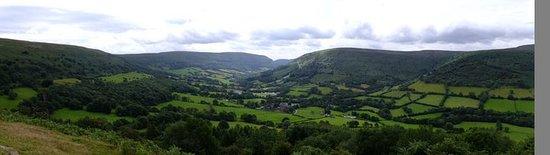 Half Moon Inn: Valley view