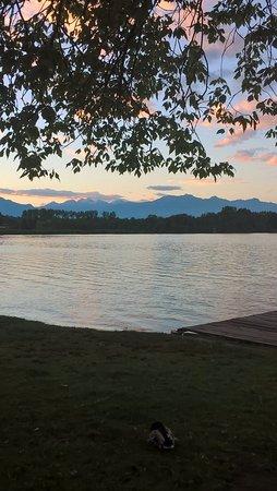 Lido : Vista del lago dal ristorante