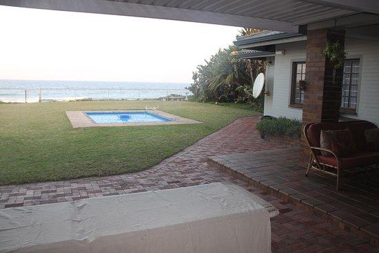 Salt Rock, Южная Африка: view from verandah