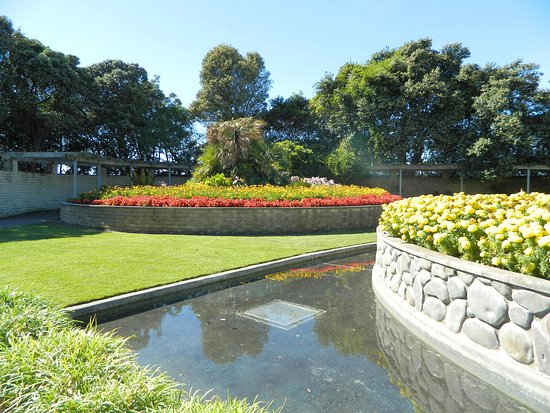 Napier, New Zealand: Sunken Garden