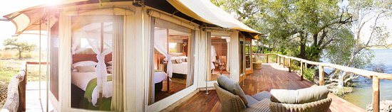 Kafue National Park, Ζάμπια: Spacious Family Tent