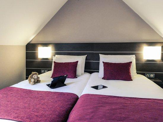 Port-en-Bessin-Huppain, France: Guest Room