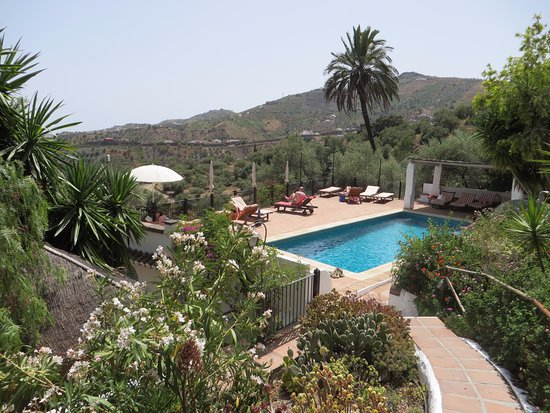 Hotel Finca el Cerrillo: pool set within beautiful garden