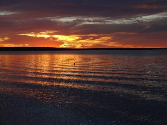 Monkey Mia, أستراليا: Sonnenuntergang ohne Filter und Nachbearbeitung