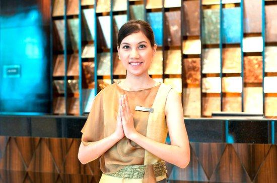 InterContinental Bangkok: Reception