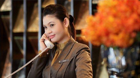 InterContinental Bangkok: Front Desk