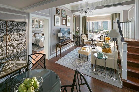 Mandarin Oriental, Bangkok: Garden Wing Living room