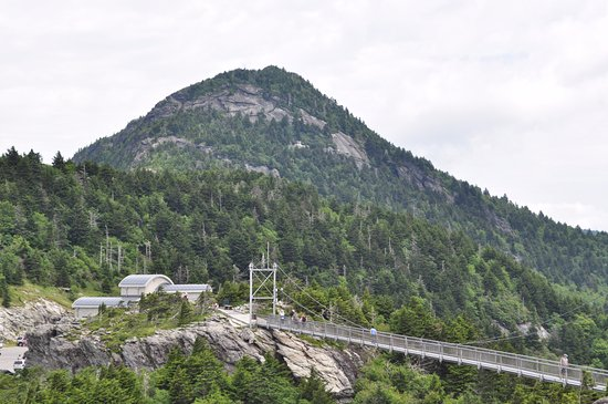 Grandfather Mountain: Bridge From The Top