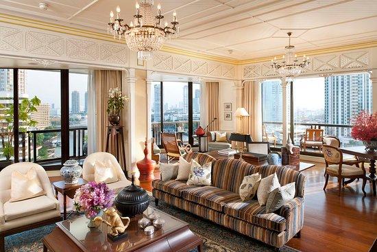 Mandarin Oriental, Bangkok: Royal Oriental Suite (Main Living Room )
