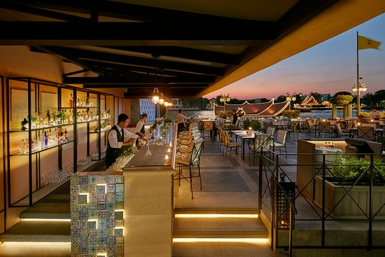ماندارين أورينتال بانكوك: Ciao Terrazza - riverside rustic Italian dining