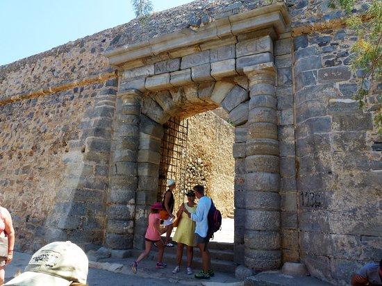 Elounda, Grecja: entrée principale à l'époque