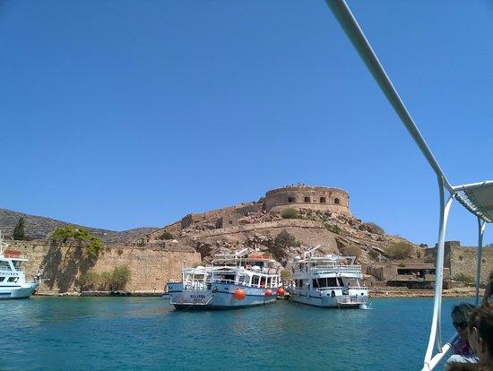 Elounda, Grecja: vue du fort