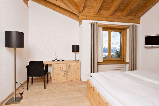 Berghotel Randolins : Comfort Double Room