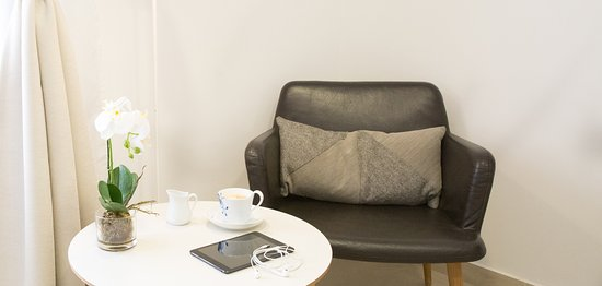 nordic hotel comfortable arm chairs