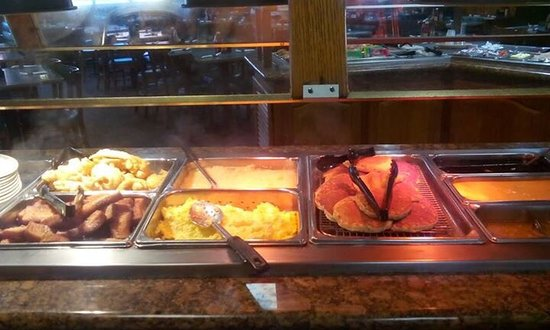Saraland, AL : Breakfast buffet on Saturday and Sunday