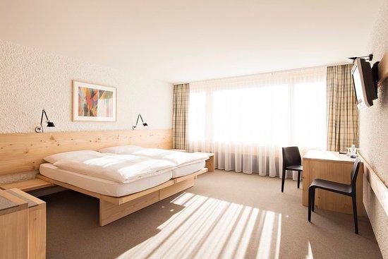 Hauser Hotel St. Moritz: Comfort double bedded room
