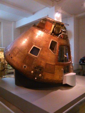 Apollo capsule - Picture of Science Museum, London ...