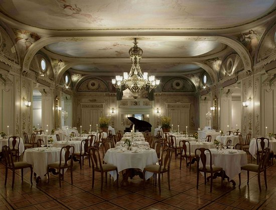 Grand Hotel Kronenhof: Grand Restaurant