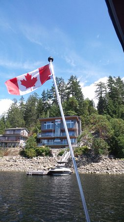 Madeira Park, Canada: House overlooking Harbour
