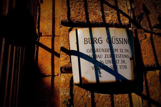 Gussing, Áustria: Burg Güssing