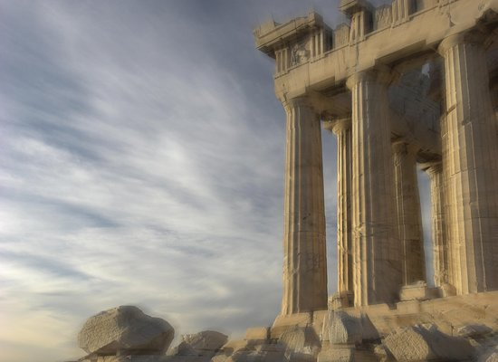InterContinental Athenaeum: The Parthenon fills the spaces of the hotel