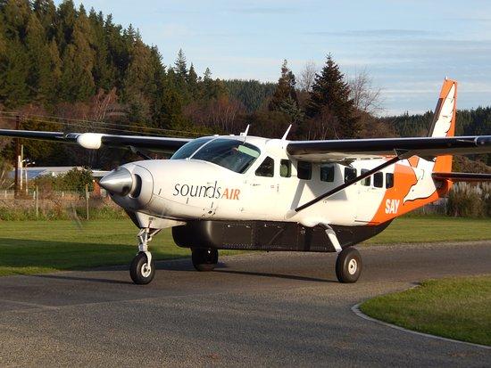 Picton, New Zealand: El Cessna Caravan en que volamos