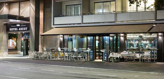 Hotel Ascot: Terrace