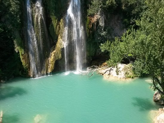 Sillans-la-Cascade, Francja: le lagon de la cascade